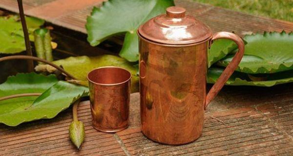copper water vessels